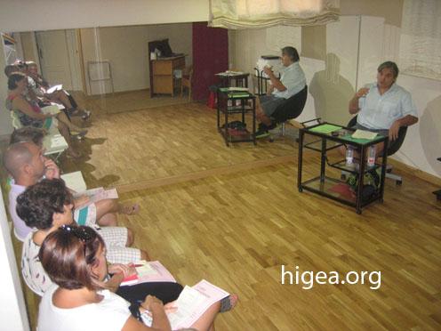 José Manuel Casado Sierra impartiendo curso de Higea 74.000 bytes