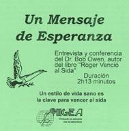DVD Un Mensaje de Esperanza
